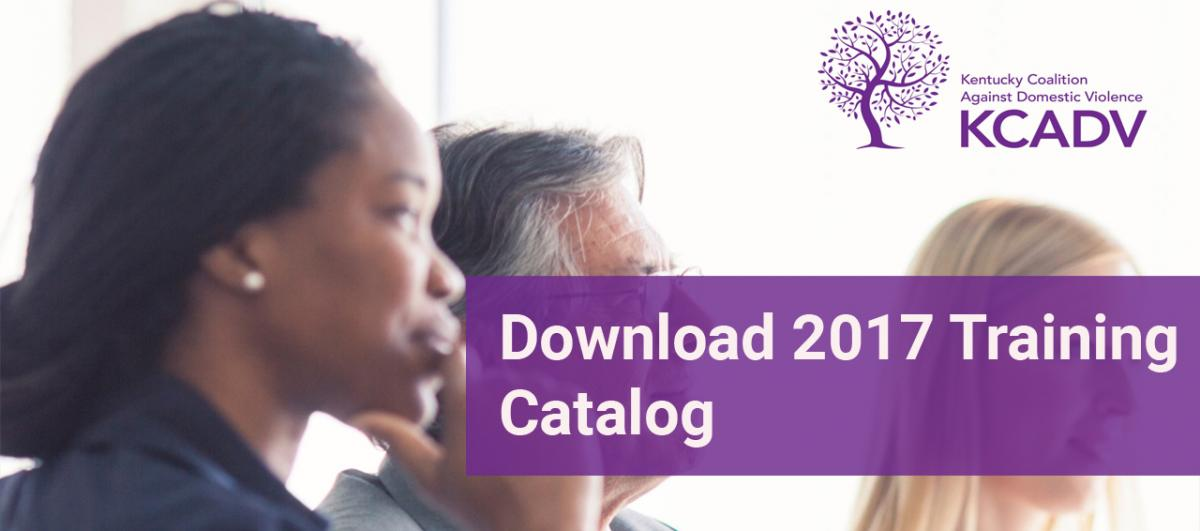 Download 2017 Training Catalog